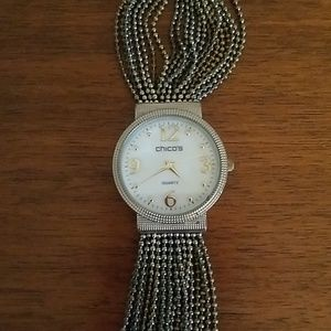 Silver Chicos watch